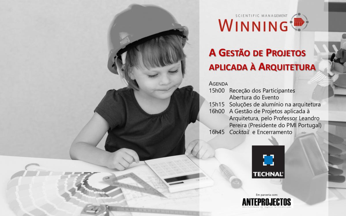 """Revista ANTEPROJECTOS, promove conferência dedicada ao tema """"A Gestão de Projectos aplicada à Arquitectura"""""""