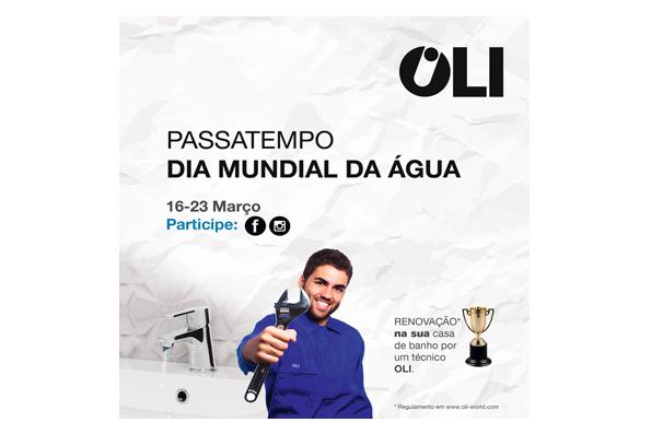 OLI Vai Premiar Ideias de Poupança de Água