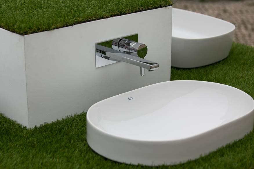 Design e funcionalidade nas novas misturadoras de parede para lavatório