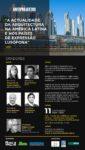 Já confirmou a sua presença?Entrada Gratuita,sujeita a reserva, Conferência: A Actualidade da Arquitectura na América Latina e nos países de expressão lusófona