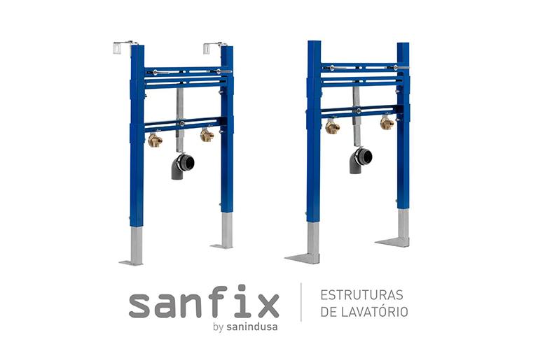Sanindusa apresenta soluções para lavatórios suspensos
