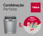 TEKA E AJAX JUNTAM-SE PARA COMBINAÇÃO PERFEITA DE LIMPEZA