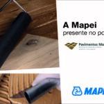 A Mapei presente no portal
