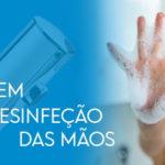 Lavagem e desinfeção das mãos