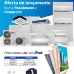 Carrier Portugal Ar Condicionado | Oferecemos até 1 iPad com a Campanha Gama Residencial e Comercial