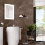 Dê mais luz a sua vida com espelhos com iluminação para espaços de banho