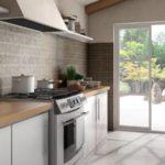 Propostas de revestimentos para cozinhas e espaços de banho rústicos