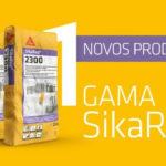 NOVOS PRODUTOS: SikaRep(R)-2200 e SikaRep(R)-2300