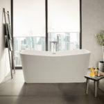 Roca lança três designs de banheiras de resina One-Piece